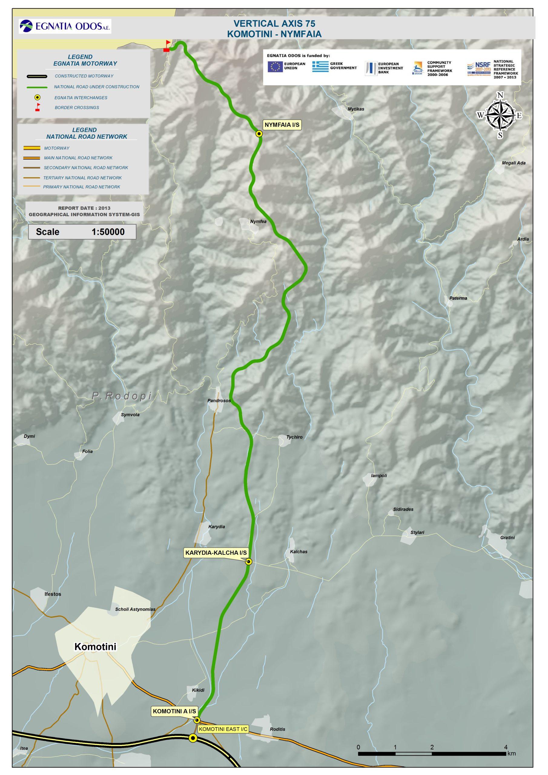 VA Komotini-Nimfea-Greek-Bulgarian Borders